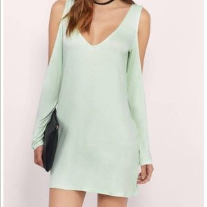 Tobi mint green dress